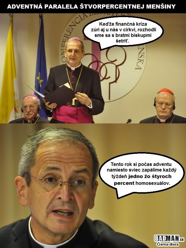 Biskupi vysvetlili pastiersky list: Adventné posolstvo 2v1