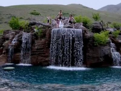 Čo tak vlastné Plitvice za domom za 2 milióny? Pozrite si najdrahší bazén na svete!
