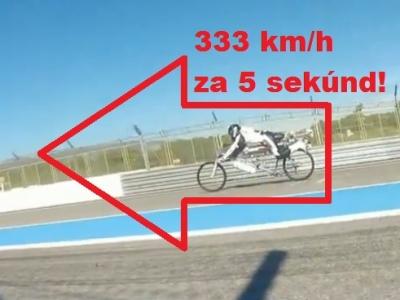 Najrýchlejší cyklista trhol brutálny rekord: Na 330 kilometrov za hodinu zrýchlil za 5 sekúnd!