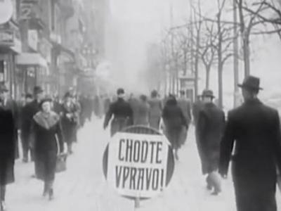 Jazda vpravo prišla až za Hitlera: Pozrite sa, ako sa zavádzala v Prahe