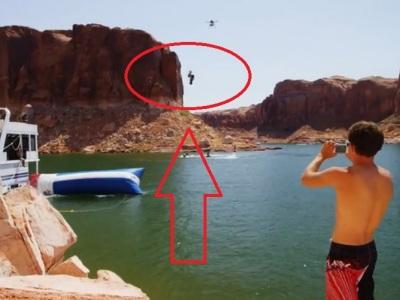 Video: Vskúšali by ste ľudský vodný katapult? Sledujte, čo s vami urobí!