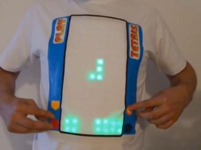 Tetris tričko: Legendárnu hru si zahráte už aj na vlastnom bruchu!
