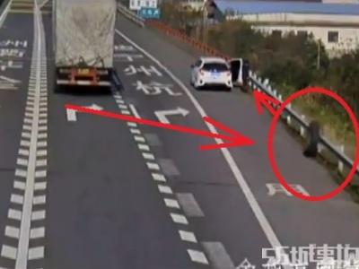 Že na krajnici diaľnice ste v bezpečí? Omyl, sledujte toto video!