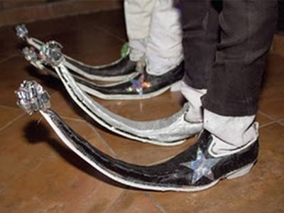 Móda mexických frajerov: topánky guarachero!